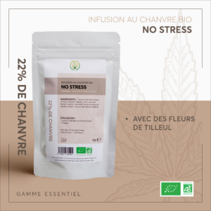 INFUSION CBD – NO STRESS – BIO 25 g