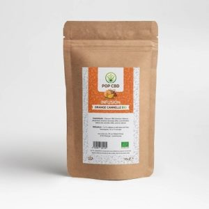 INFUSION CBD ORANGE CANNELLE BIO 35 g